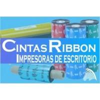 CINTA RIBBON PARA IMPRESORAS DE ETIQUETAS DE ESCRITORIO